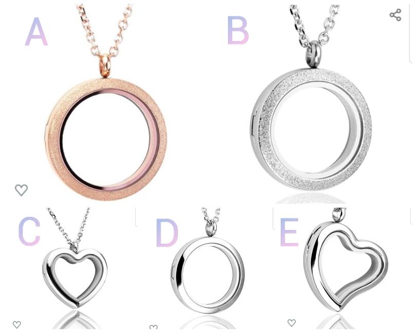 Auswahl Halsketten - Edelstahl
