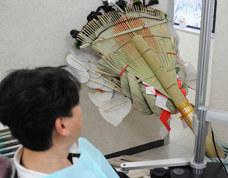 東日本大震災 地震直後のG.V. BLACK DENTAL OFFICEの様子 患者はアントニオ横浜
