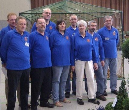 Einige Mitglieder anl. der Kreisvogelschau 2011