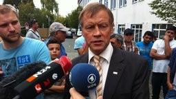 Вице-премьер Фолькер Милк