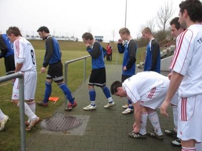 Heimspiel 2009 gegen Rot an der Rot