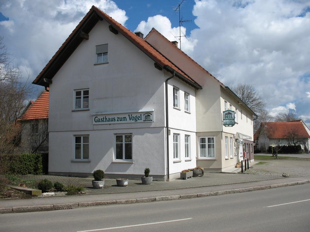 """ehemalige Vereinsgaststätte """"Vogel"""""""