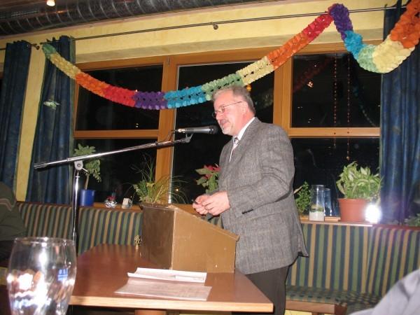 Letzte Jahreshauptversammlung für R. Schneider als Vorsitzender