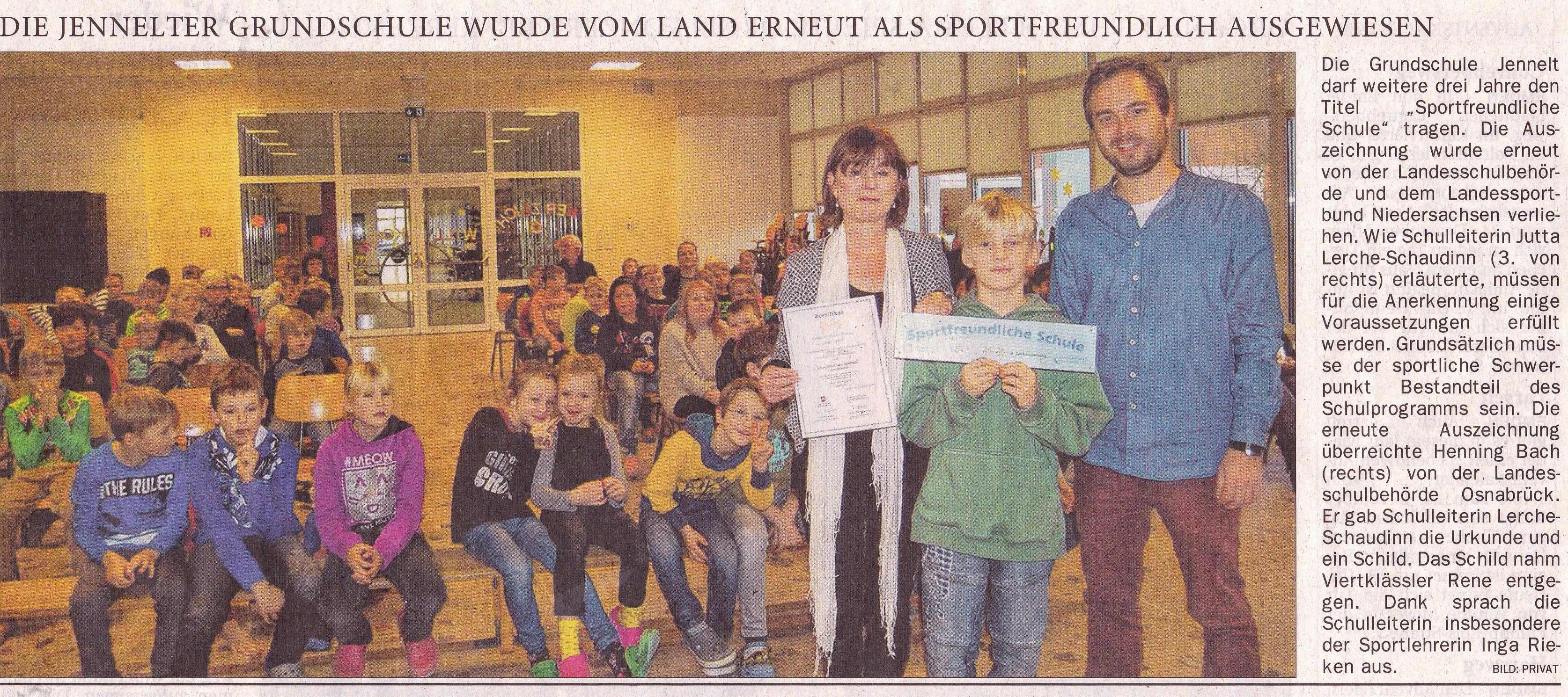 Ostfriesen-Zeitung 1.12.2016