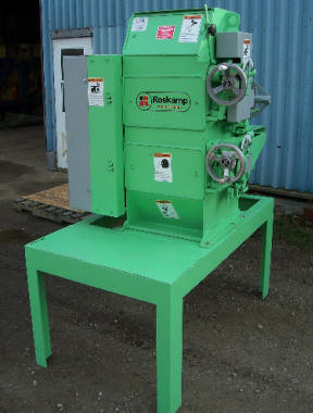 Roskamp Model K, 9 x 18 Two Pair High Roller Mill