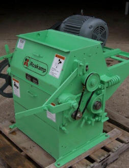 "Roskamp Model K, 9 x 24 ""Shorty"" Roller Mill      photo for example only, unit sold"