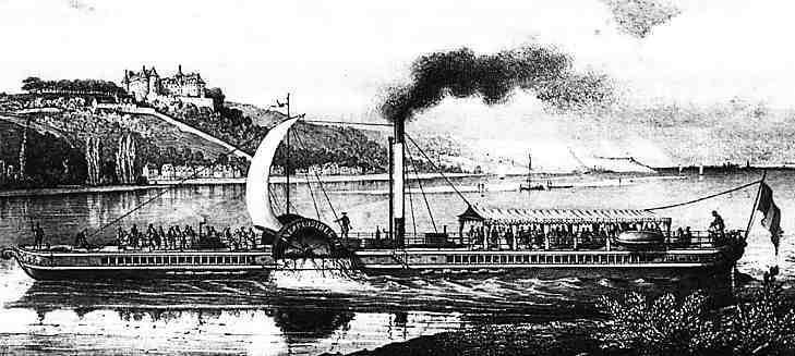 Le « Ville de Nantes » sur la Loire , le « Parisien » devait lui ressembler