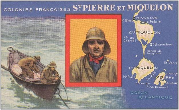 St Pierre et Miquelon, le port morutier est à Saint-Pierre
