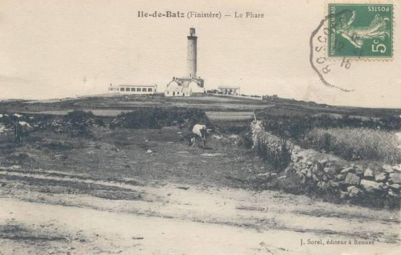 Le phare vu de l'Est