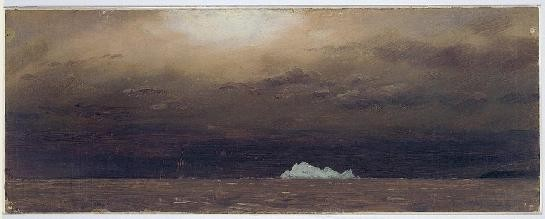 Iceberg à Terre-Neuve 1859 Frederic Edwin Smithsonian Cooper-Hewitt, National Design Museum