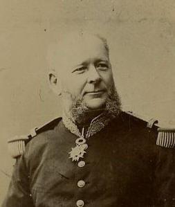 Le vice Amiral Louis Vignes 1831-1896