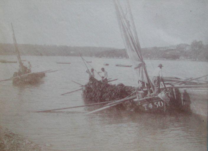 Photo de Faudacq bateau goémonier de la rivière de Tréguier