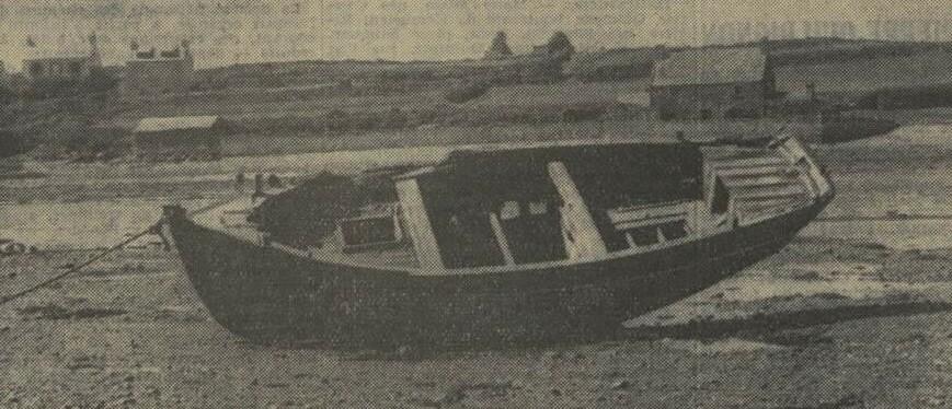 Le canot à misaine demi ponté Guy Ferryville (Photo la dépêche de Brest)