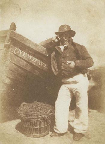 Newhaven, le marin James Linton, calotype entre 1843 et 1847 par Robert Adamson ou David Octavius Hill