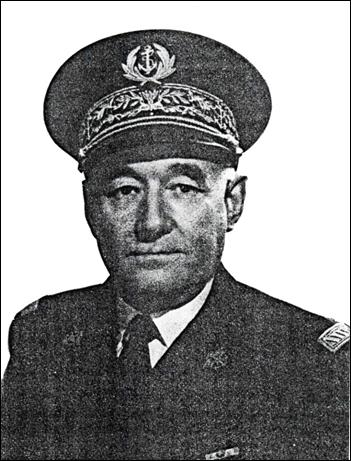 L'amiral Henry Dyèvre (Vannes 1893, Paris 1982.