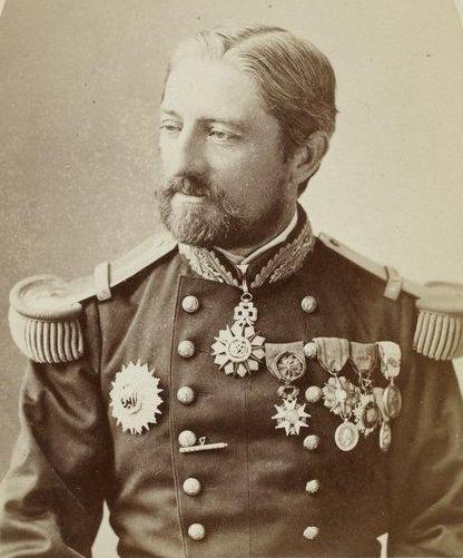 Le futur amiral Cavelier de Cuverville 1834 1912