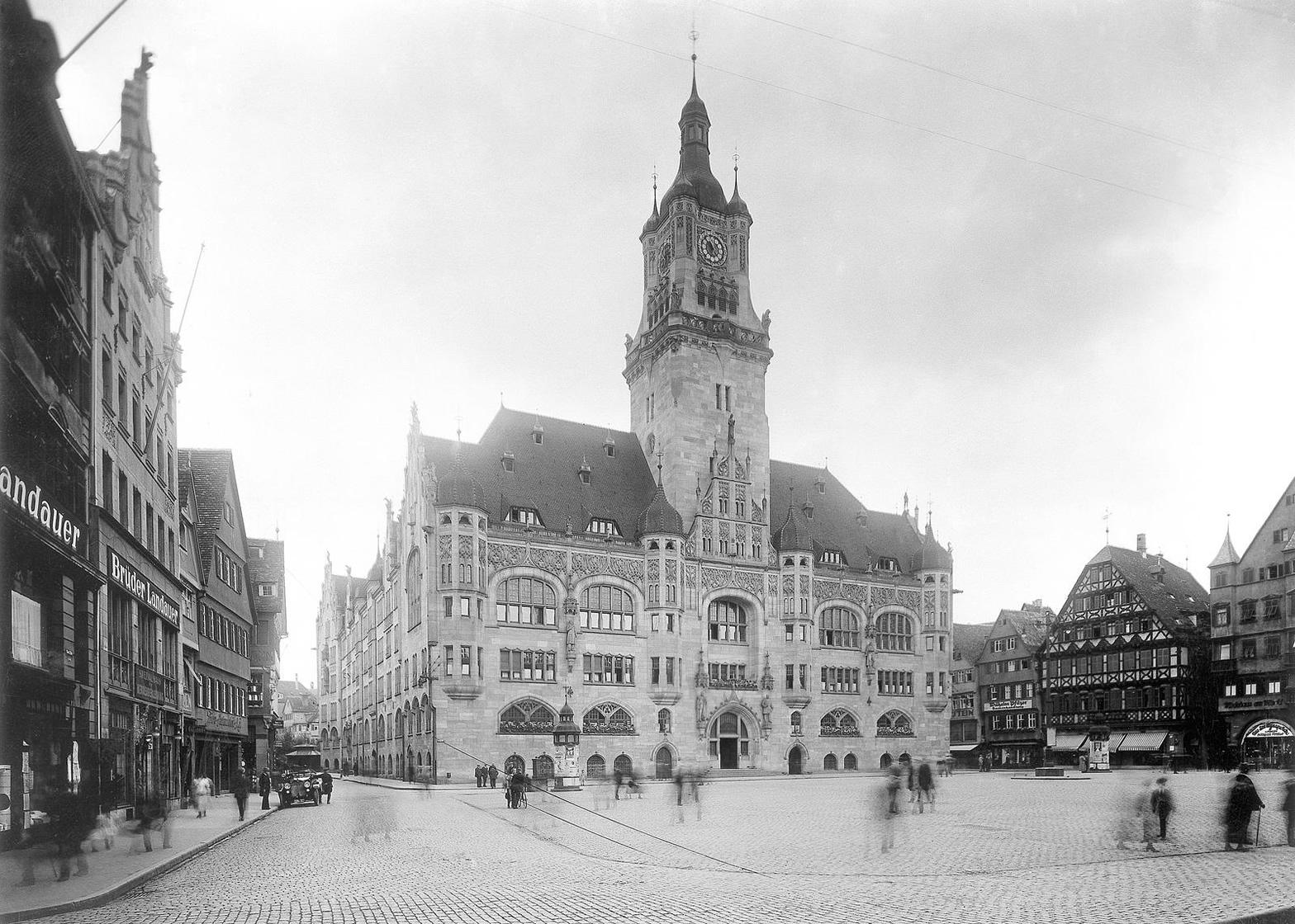 Das alte Stuttgarter Rathaus - Erinnerungen an Vergangenes