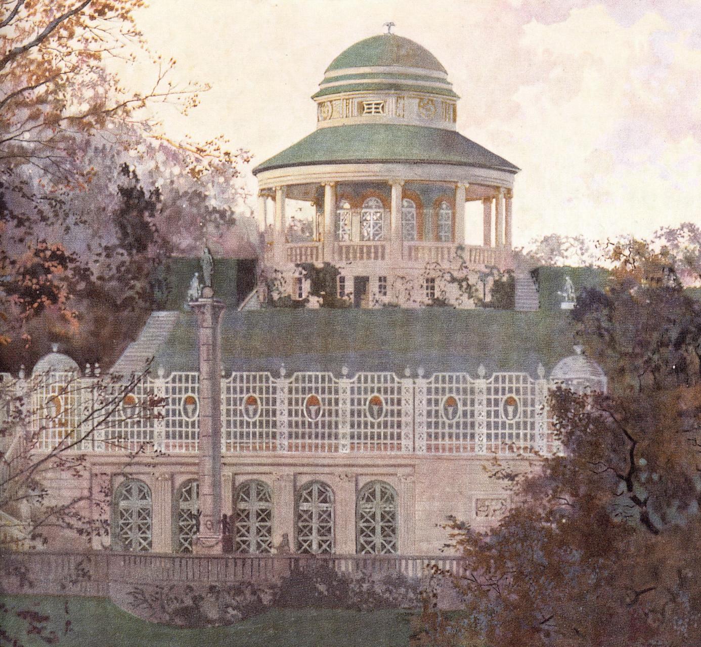 Teehaus und Marmorsaal (Geschichte: Wie das Teehaus auf den Bopser gekommen ist...)