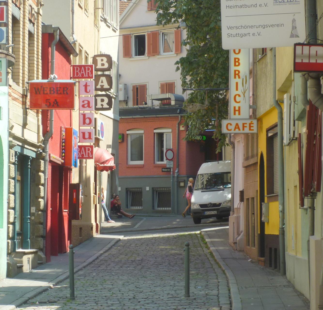 Weberstraße - Gegensätze ziehen sich an: Heimatverbundenheit und Rotlichtmilleu