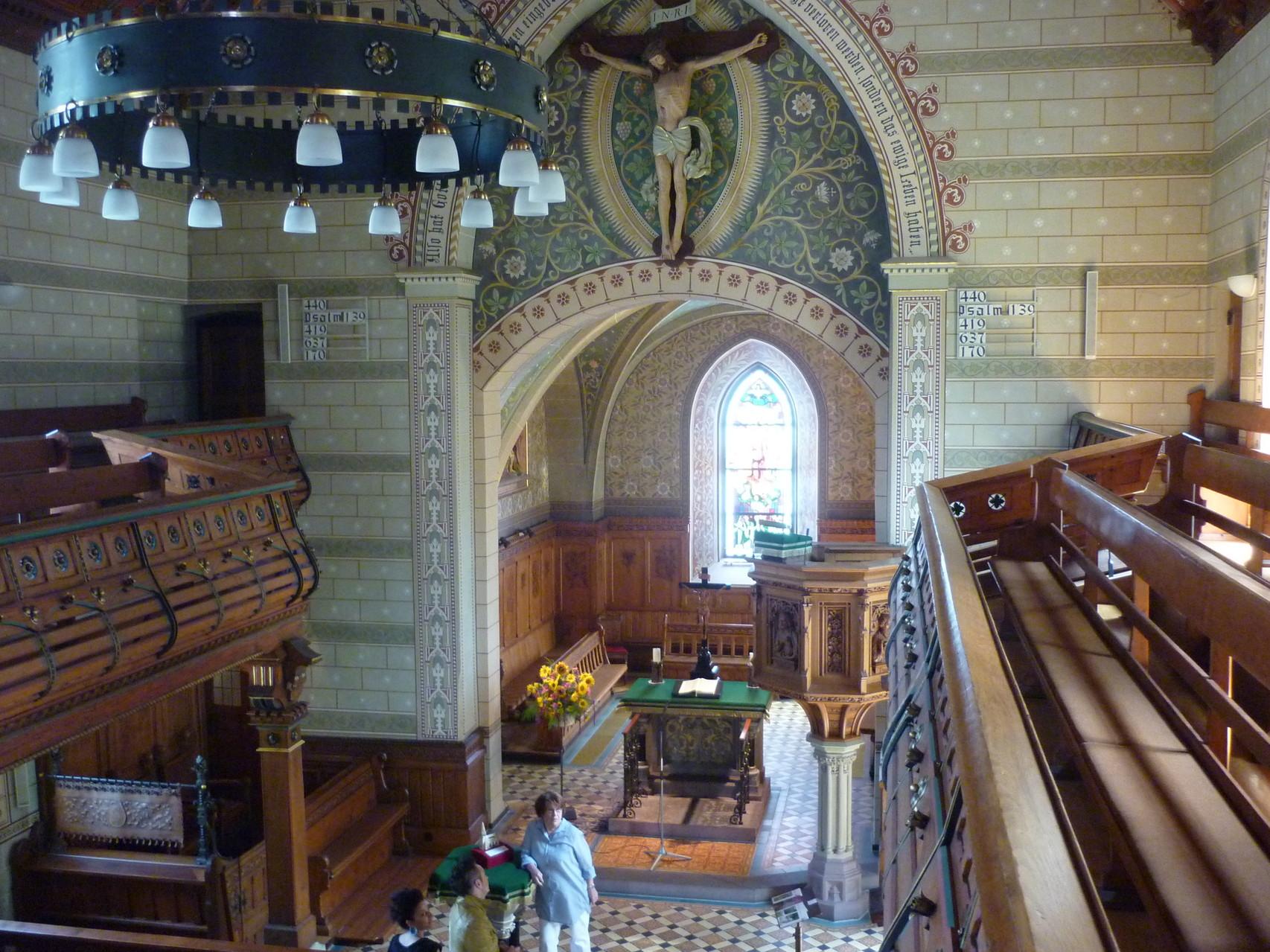 Andreaskirche, Uhlbach (Geschichte: Der Textilfabrikant aus Heslach und die schöne Uhlbacherin)