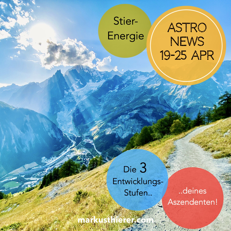 ASTROLOGISCHE VORHERSAGE 19.-25. APRIL
