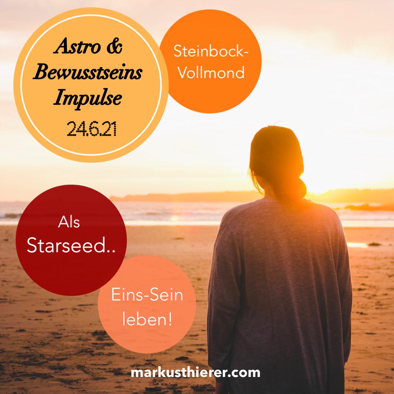 Astro & Bewusstseins Impulse 24.6.21