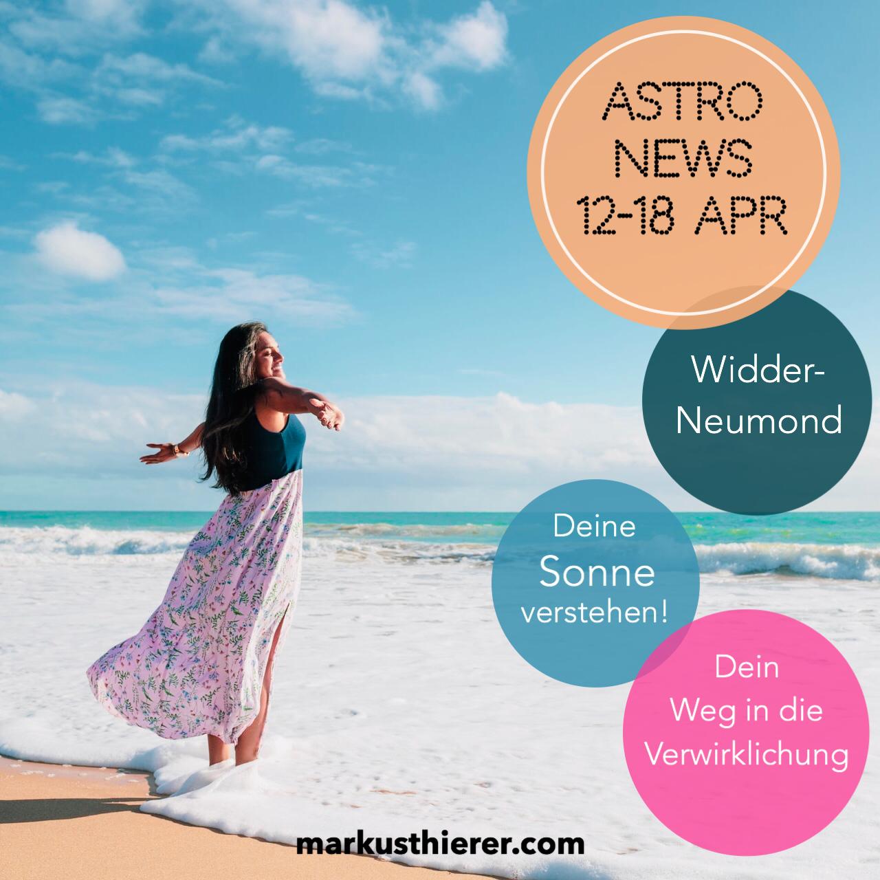 ASTROLOGISCHE VORHERSAGE 12.-18. APRIL