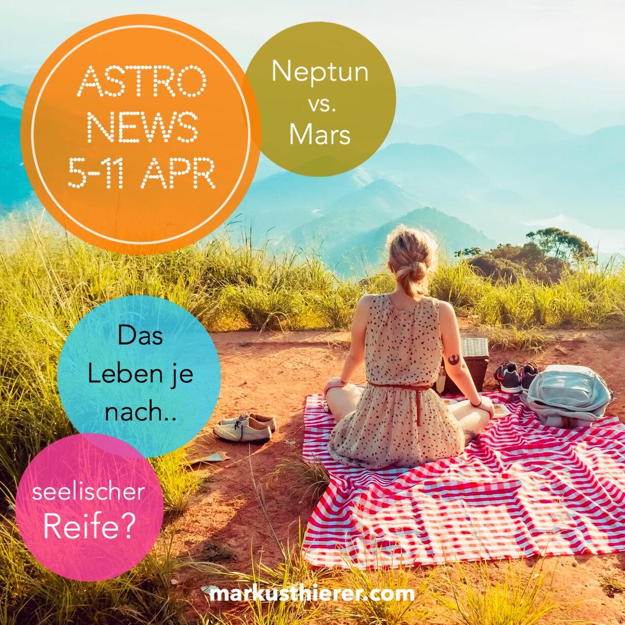 ASTROLOGISCHE VORHERSAGE 5.-11. APRIL