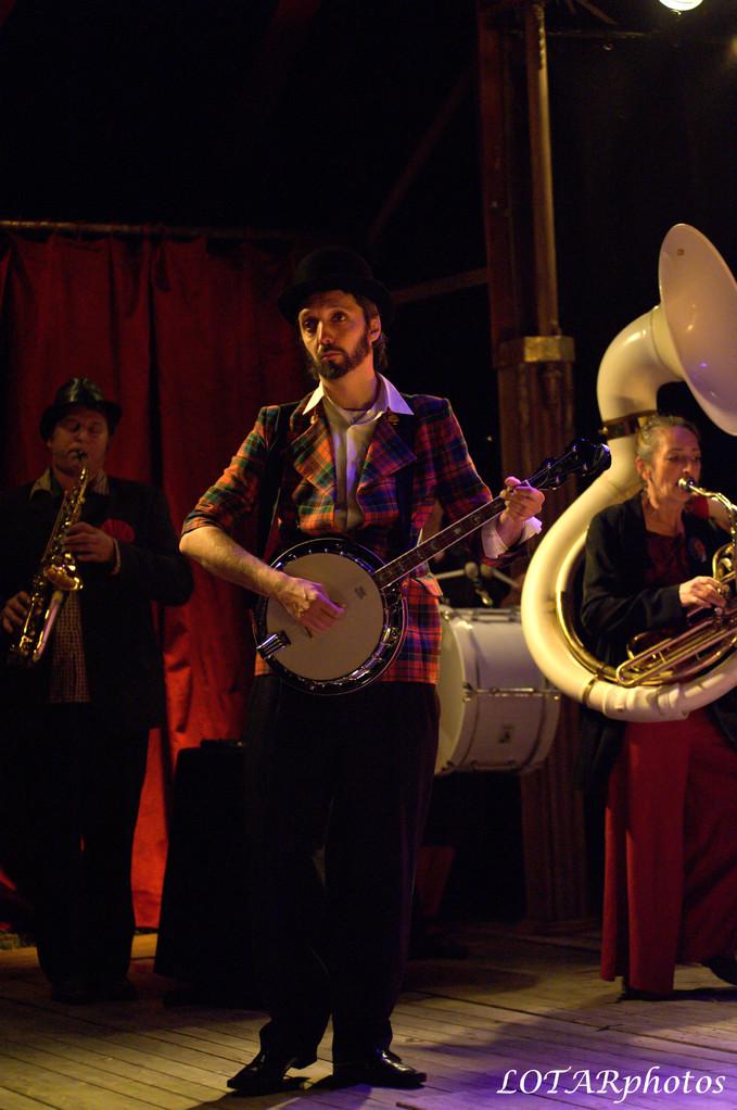 Sylvain Baumard - banjo