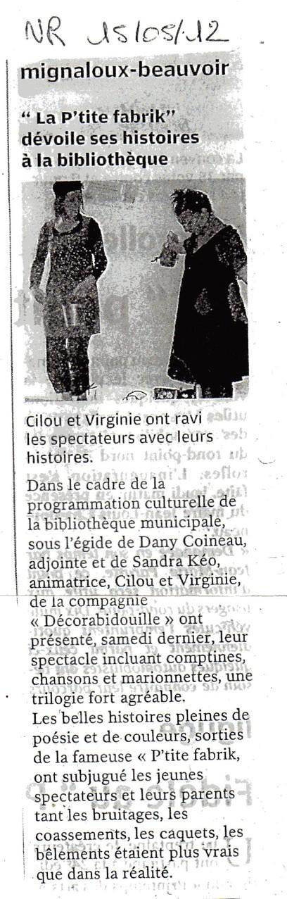 La P'tite Fabrik d'histoires à Mignaloux-2012-NR