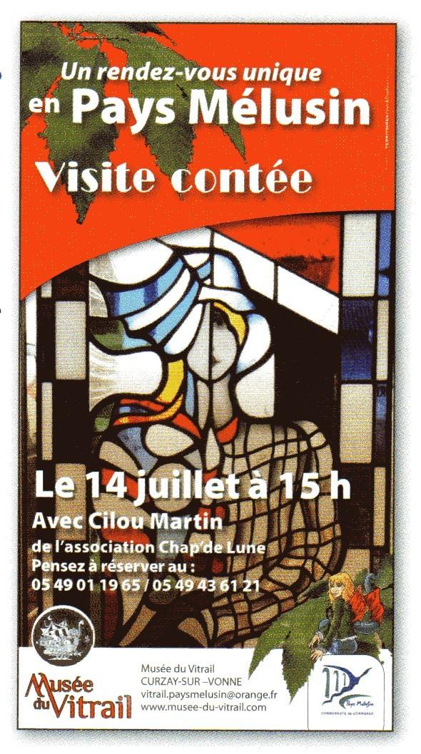 Contes en liberté Musée du Vitrail-2013
