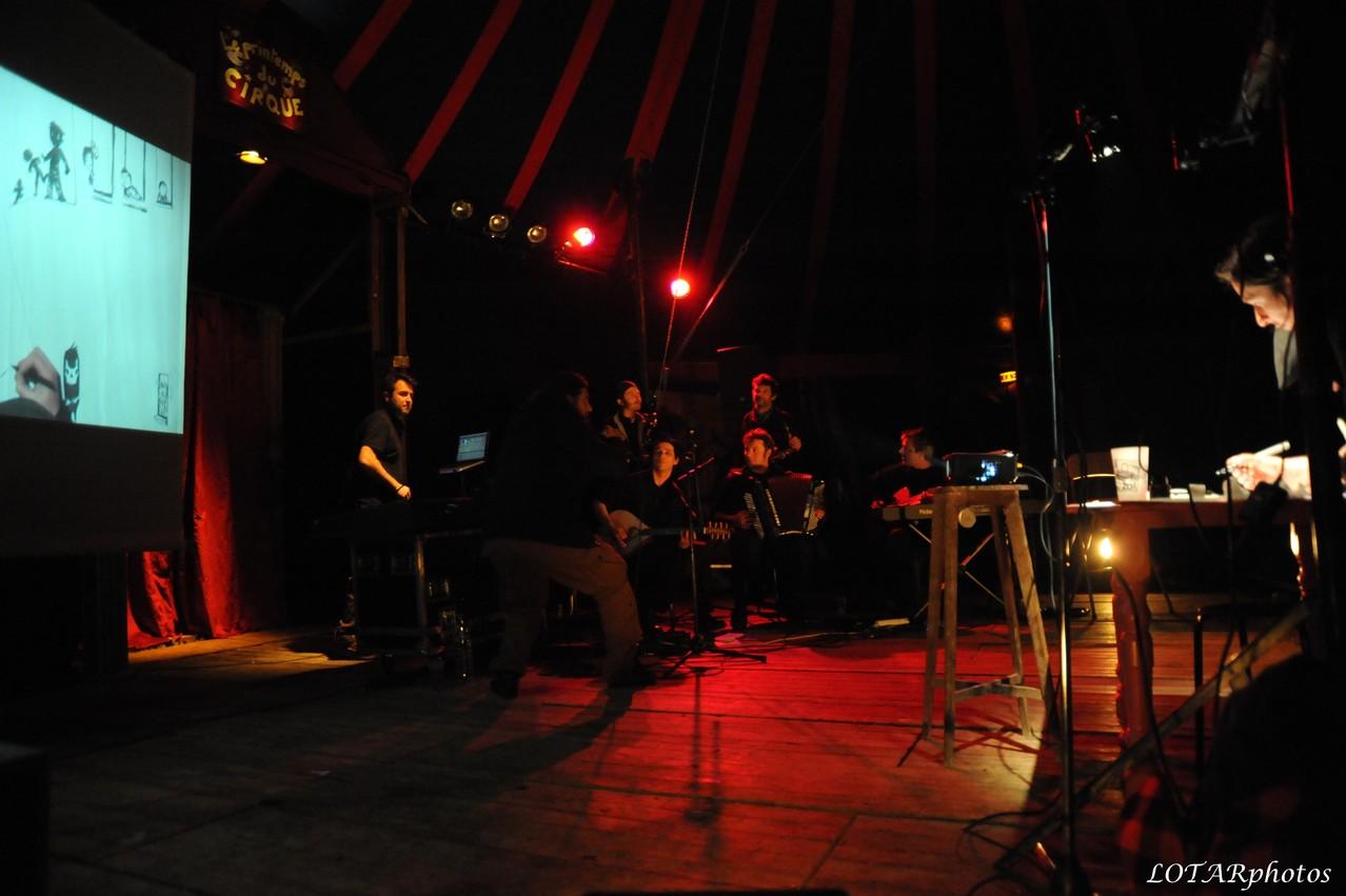Slam sur musique live & électro