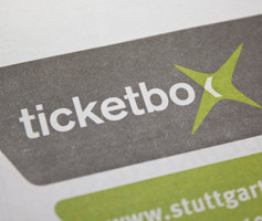Ticketbox Erscheinungsbild