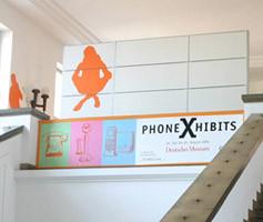 PhoneXHibits Ausstellung