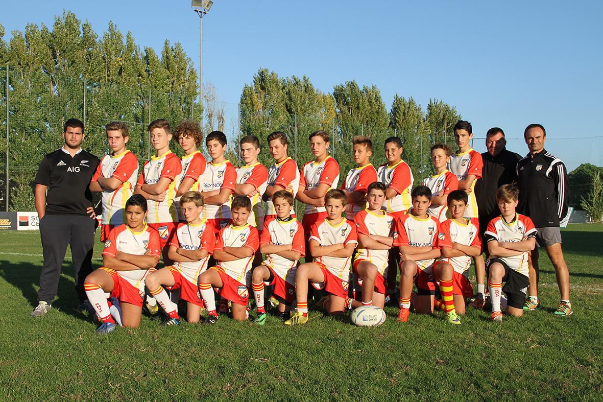 U12 - Saison 2015-2016