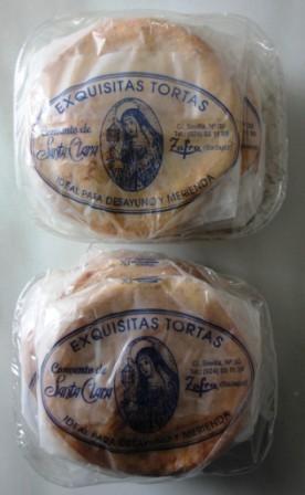 TORTAS DE SANTA CLARA