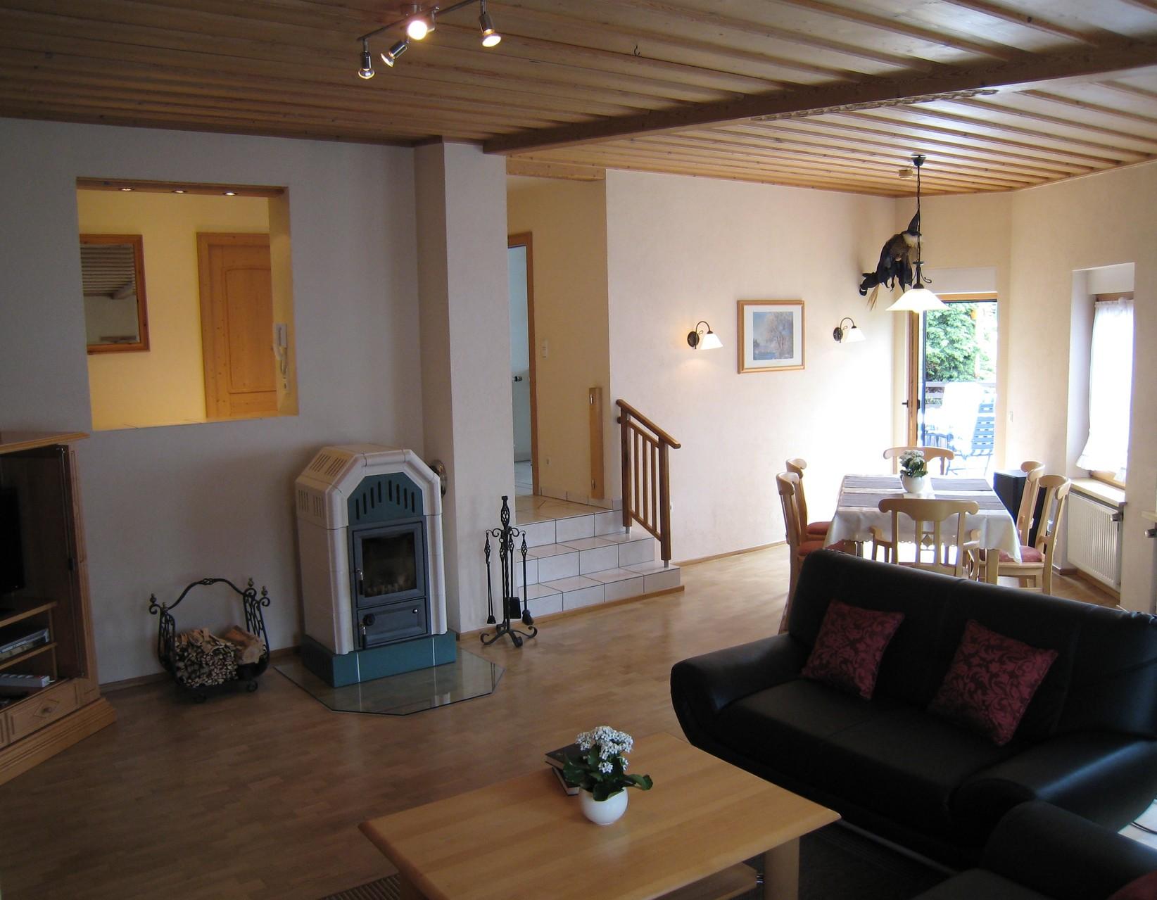 Eingang Wohn-Essbereich