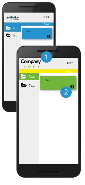 Option 1 - basic layout