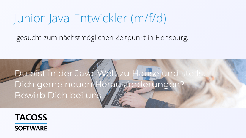 Junior Java developer wanted!