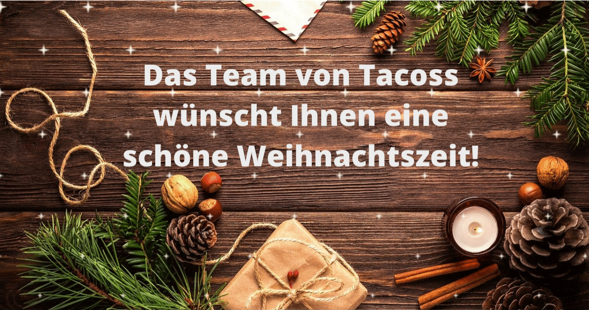 Tacoss wishes you Happy Holidays