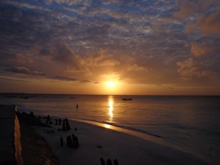 Sunset Nungwi, Sansibar