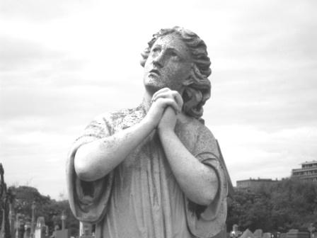 Friedhof in Belgien
