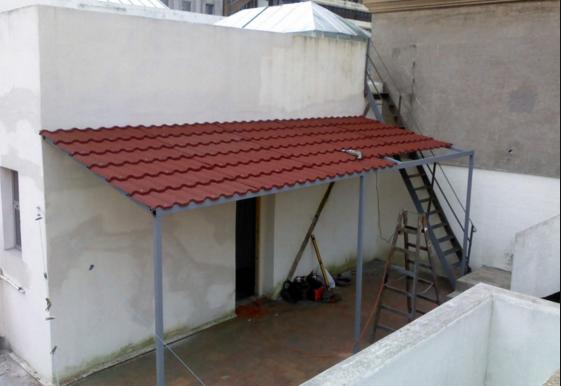Herreria grupo amaque for Fotos de techos para patios