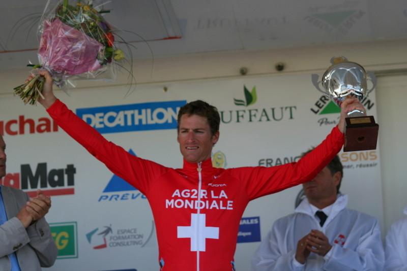Martin ELMIGER (AG2R La Mondiale) Vainqueur du 25ème Grand Prix de la Somme - Conseil général 80 (Photo Pascal LINGET Photos-cyclisme-pro)