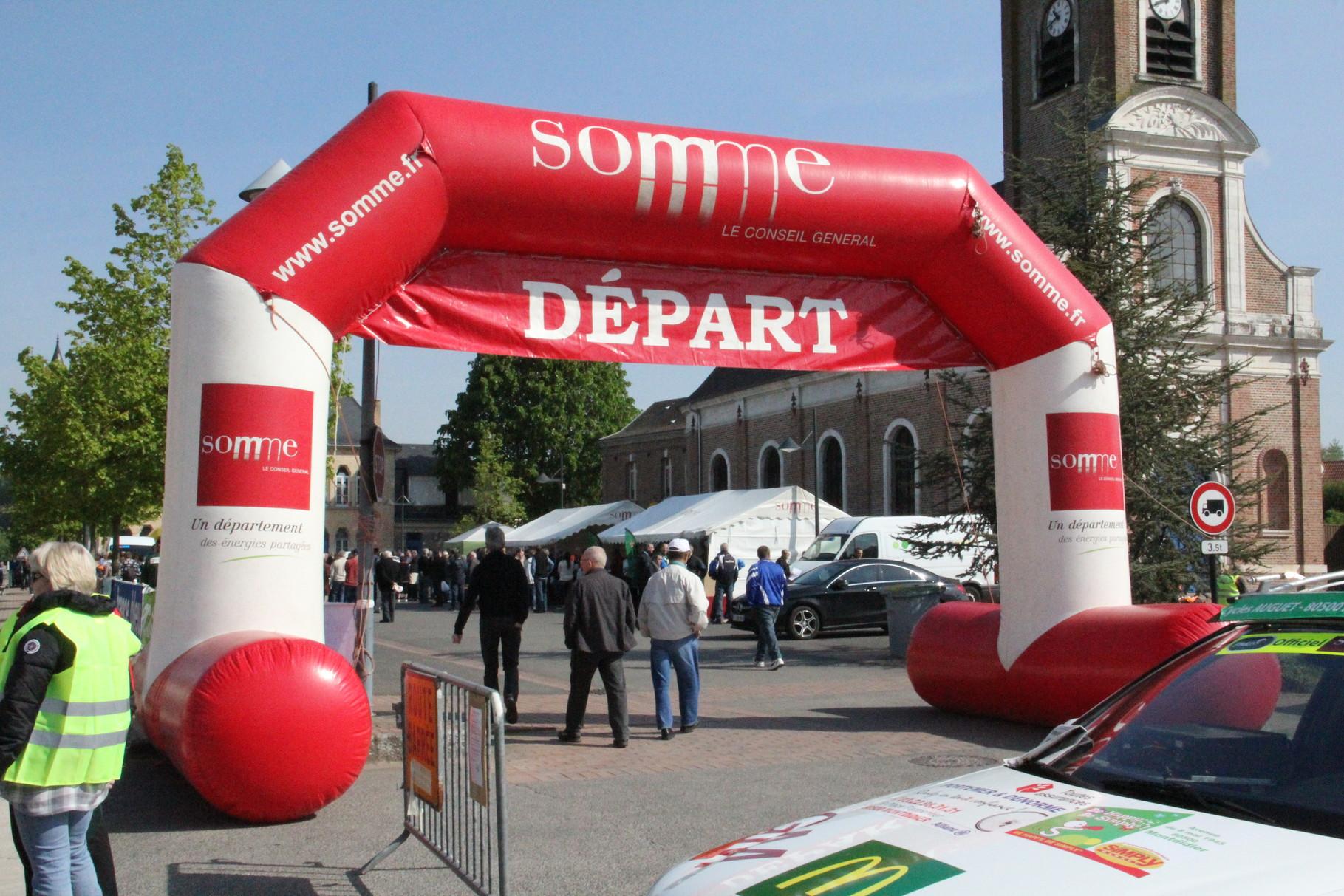 Le site Départ à Saint Léger les Domart
