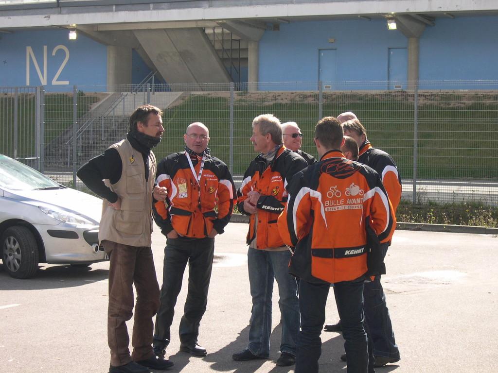 """Les signaleurs motos de PSP """"Bulle Avant"""" (Photo GF/PSP)"""
