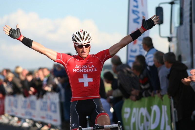 Martin ELMIGER  vainqueur du 25ème Grand Prix de la Somme-Conseil général 80 (Photo Pascal LINGET Photos-cyclisme-pro)