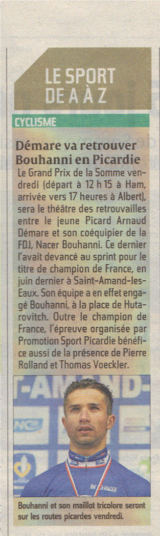 Courrier Picard mercredi 12 septembre 2012