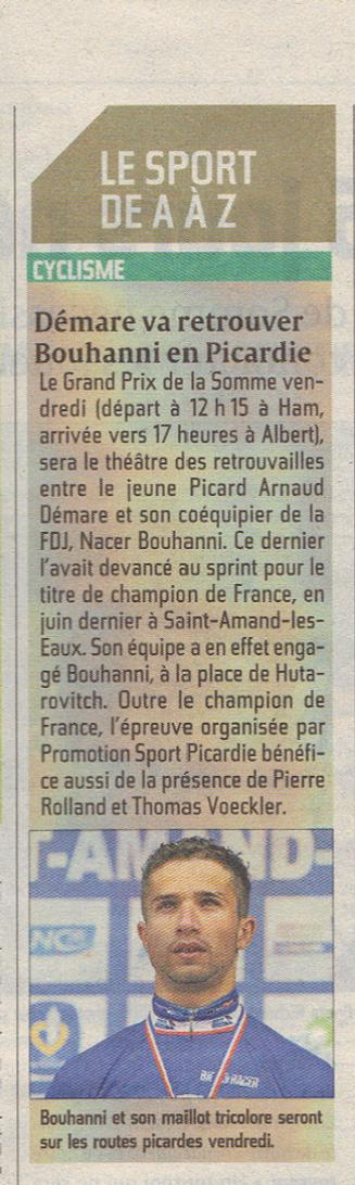 Courrier Picard mercredi 12 septembre 2012