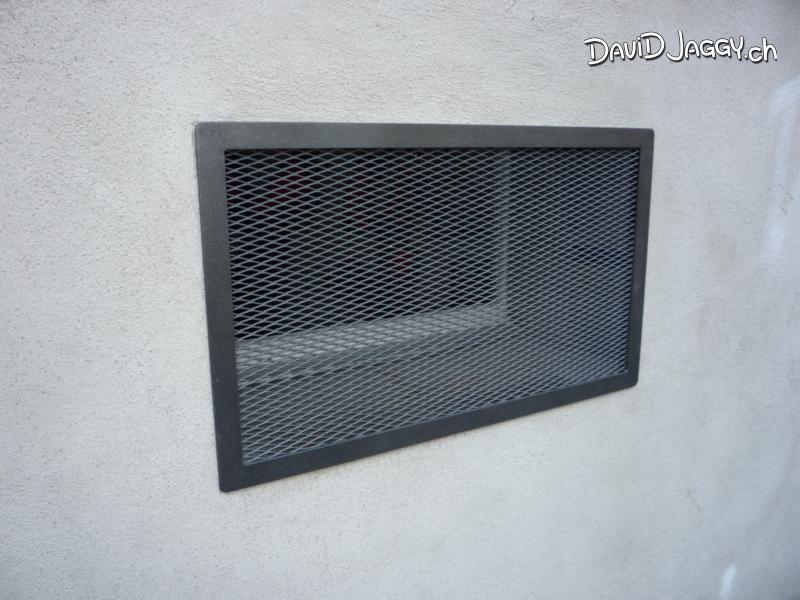 Fenstergitter Einbruchsicherung Streckmetall Mäuseschutzgitter